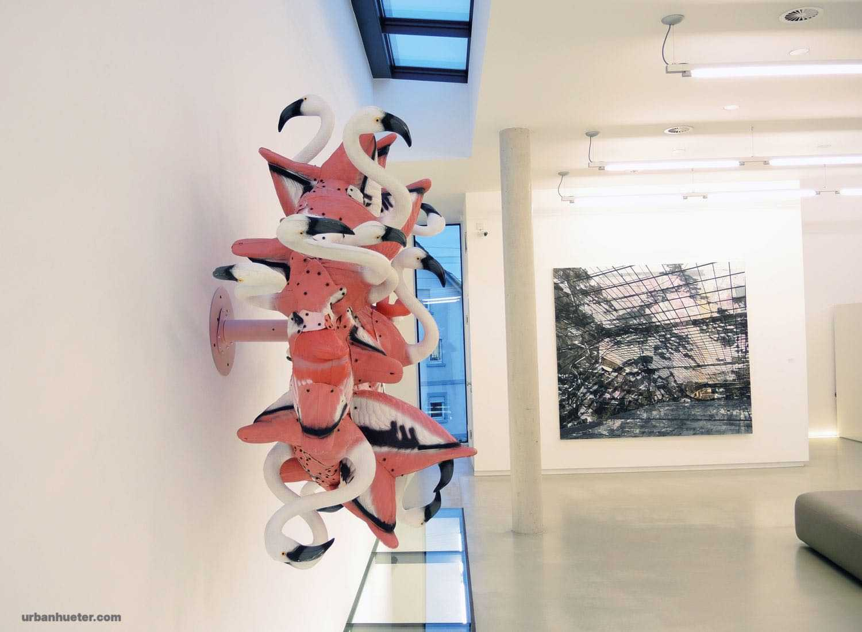 Urban-Hueter-flamingo-2018-Kunststoff-Aluminium-Holz