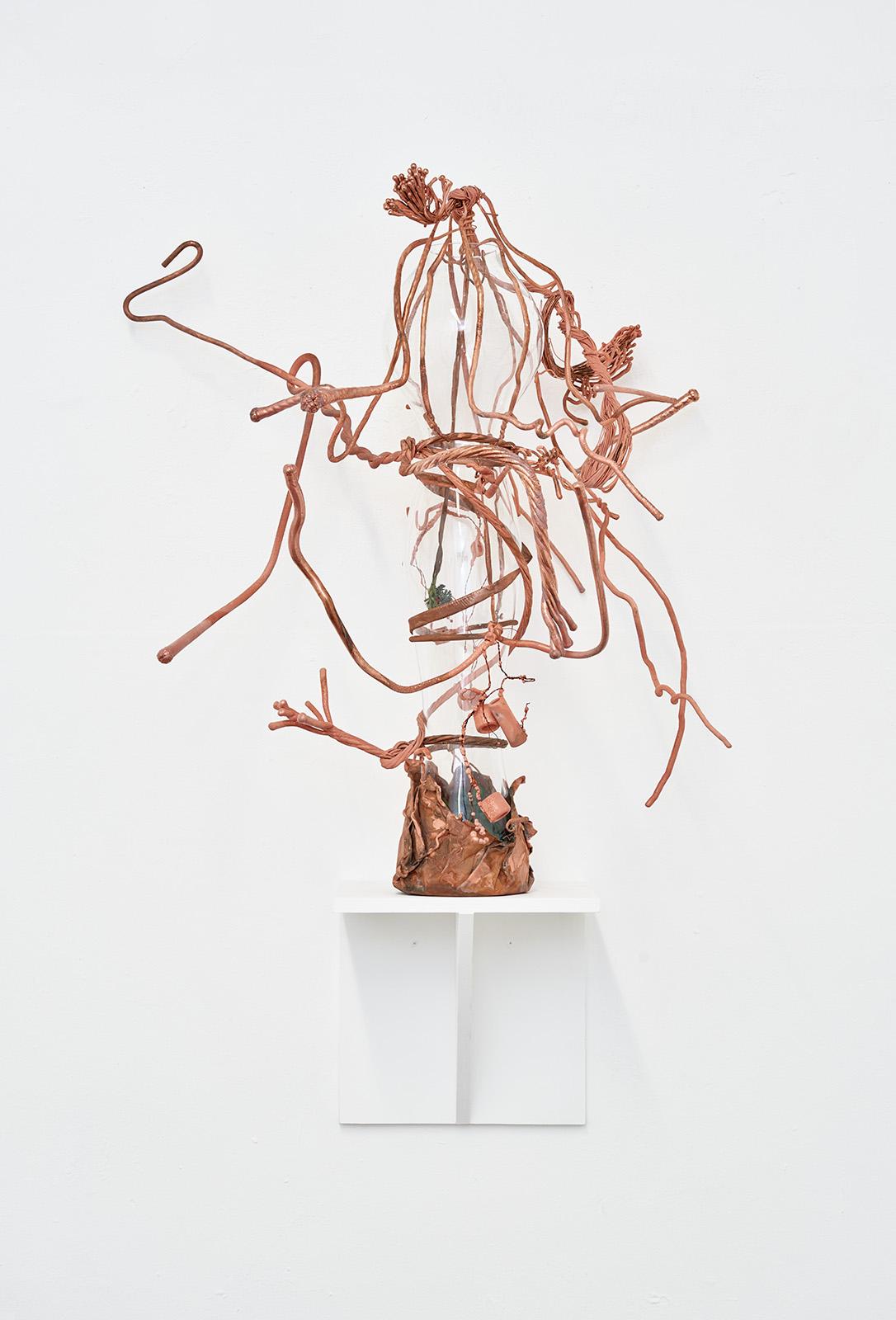 06-Vase-6-2021-Glas-Kupfer-100-x-70-x-45-cm